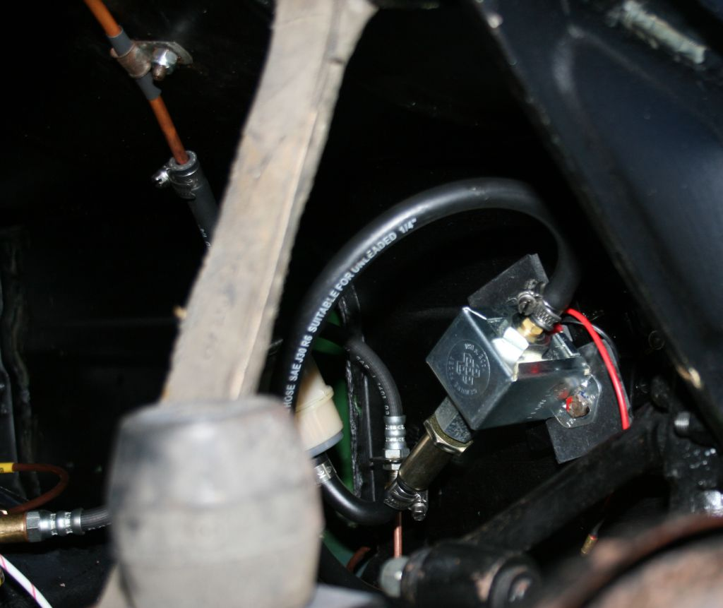 Electric Fuel Pump Install System Carbs By Com View Topic Where To Mount The Pics Please Facet And