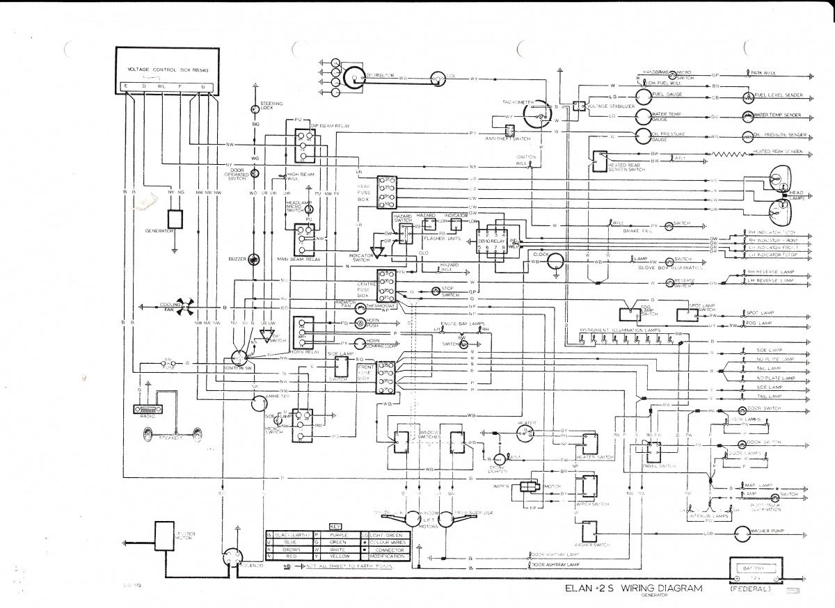 Lotus Elan Wiring Diagrams Electrical 1966 Porsche Engine Diagram Schematic Third Level Snatch